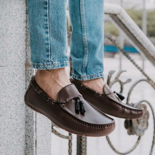 540796daf17 Tomaz F129 Penny Loafers (Brown)