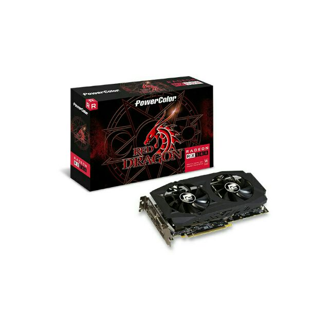 PowerColor AMD Radeon RED Dragon RX 580 8GB GDDR5