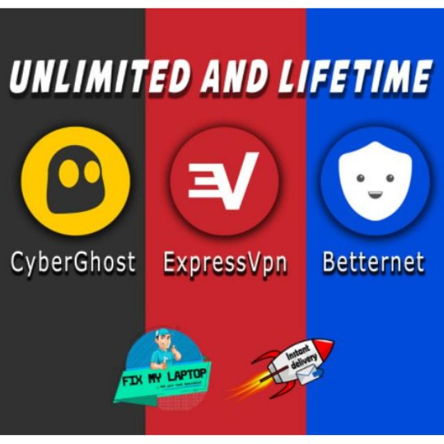 🔥[Unlimited/Lifetime]🔥 ExpressVPN , CyberGhost VPN , Betternet VPN Premium