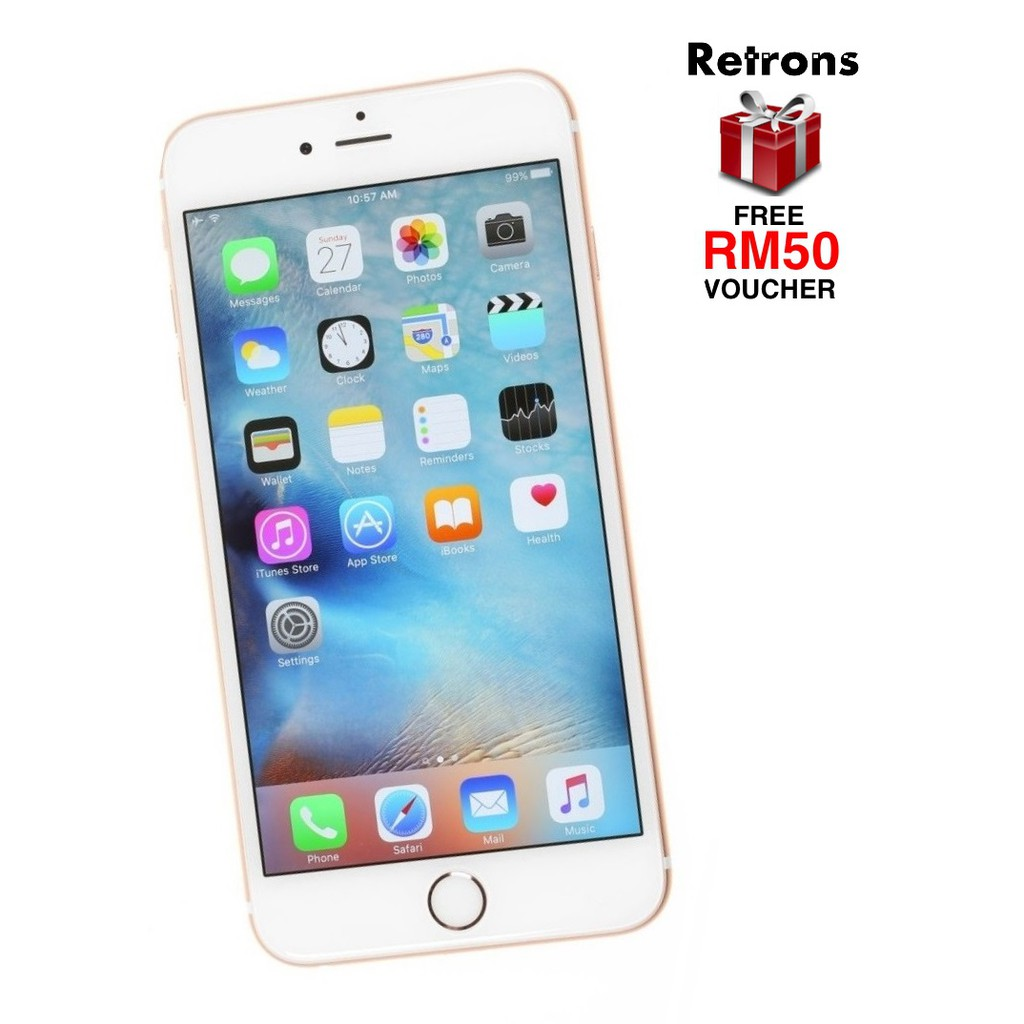 🇲🇾 Ori Apple IPhone 6 64GB Used Tip Top 9.7/10 Condition + 1 Month Warranty