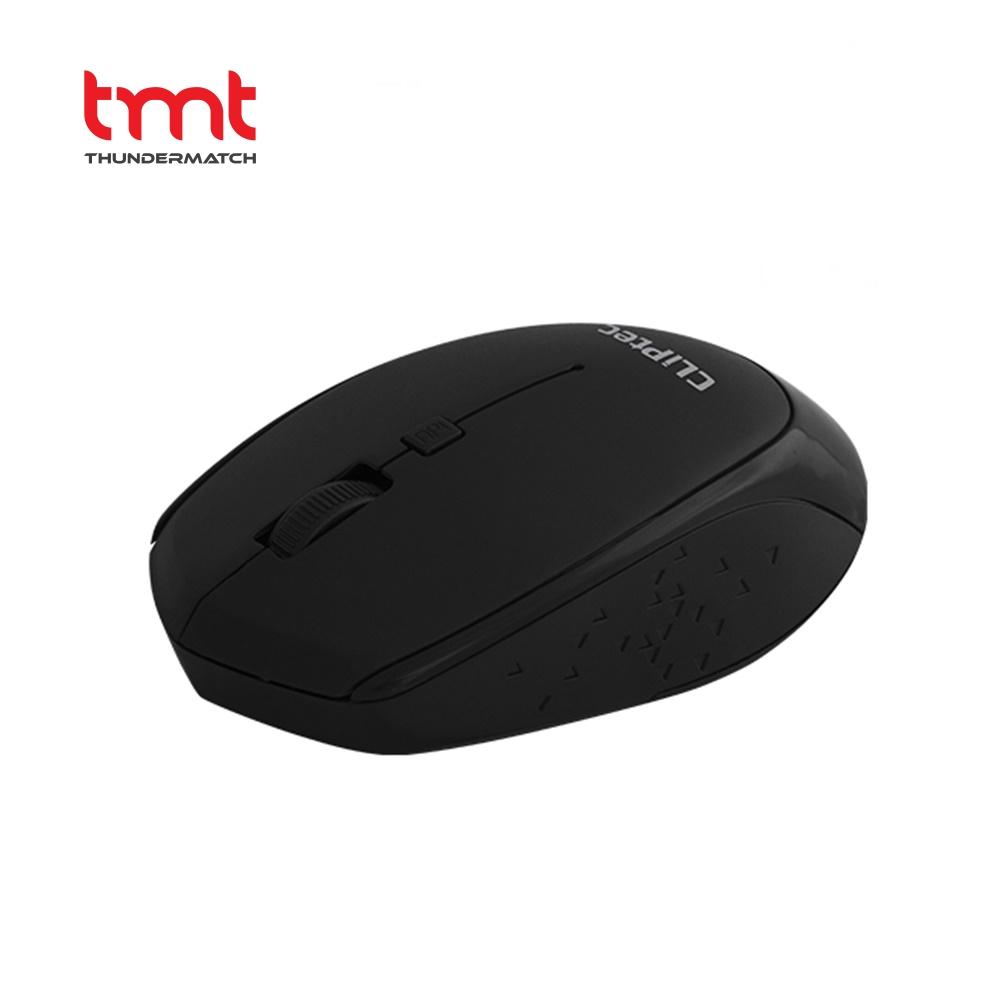 CLiPtec RZS-857 INNOVIF 1600dpi 2.4GHz Wireless Optical Mouse | Black | 1 yr wrty