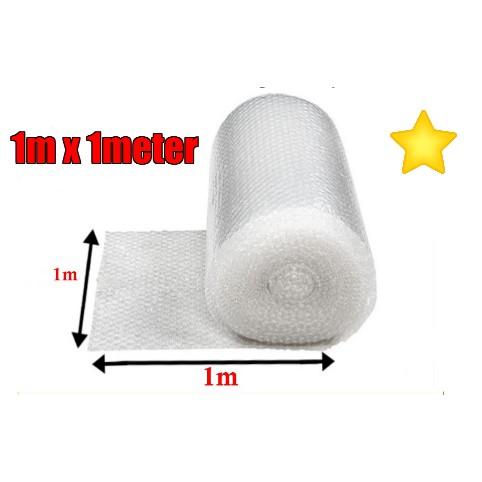 (Ready Stock) Bubble Wrap 1m (H) x 1 meter ( 100cm x 1 meter )