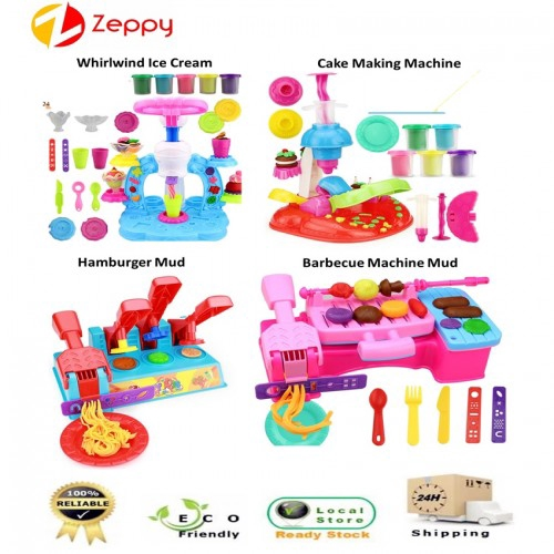 843b3ffa6 ProductImage. ProductImage. Kids Early Learning Creative DIY Play Dough  Clay Mold Pretend Play Set Toys
