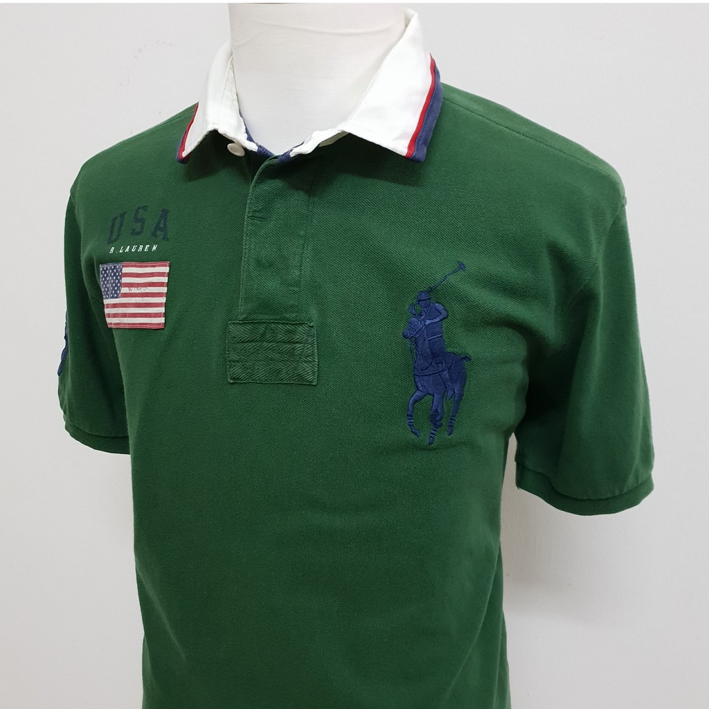 daeb4bb2c Polo Ralph Lauren 2 Horses No3 Size XS | Shopee Malaysia