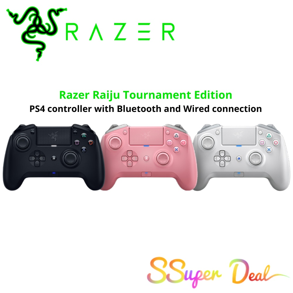 Razer Raiju Tournament Edition (PS4 controller with Bluetooth and Wired connection)