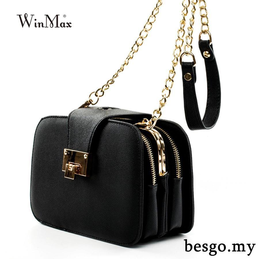 Bolish Fashion Black Bag Simple Single Shoulder Bag Larger Capacity Oxford  Trave  271a47bcab0af