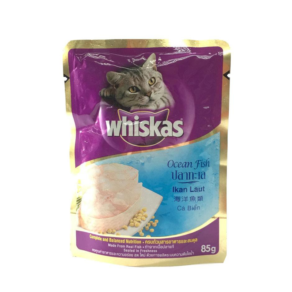 Whiskas Ocean Fish Pouch Cat Food 85g X 6