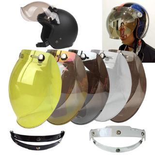 Almencla 2 Pieces Motorcycle Flip Up Helmet Shield Protector Lens Visor Windscreen for AGV K3 K4