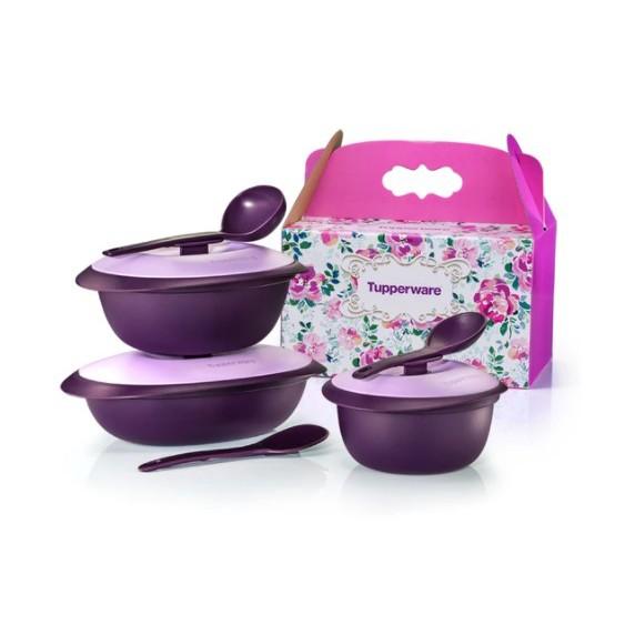 Purple Royale Serveware Set