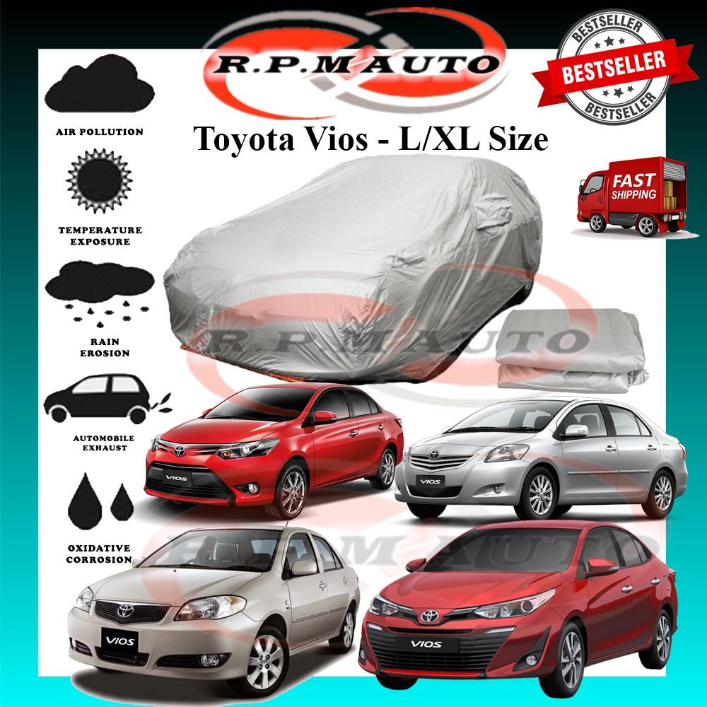 Toyota Vios 2002 2009 2019 High Quality Yama Car Cover - L/XL Size selimut kereta vios car cover vios 2002 2009 2019