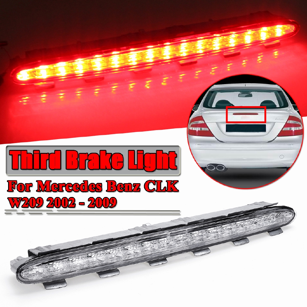 Third Brake Tail LED Red Light Warning Stop For Mercedes Benz CLK W209 2002-2009
