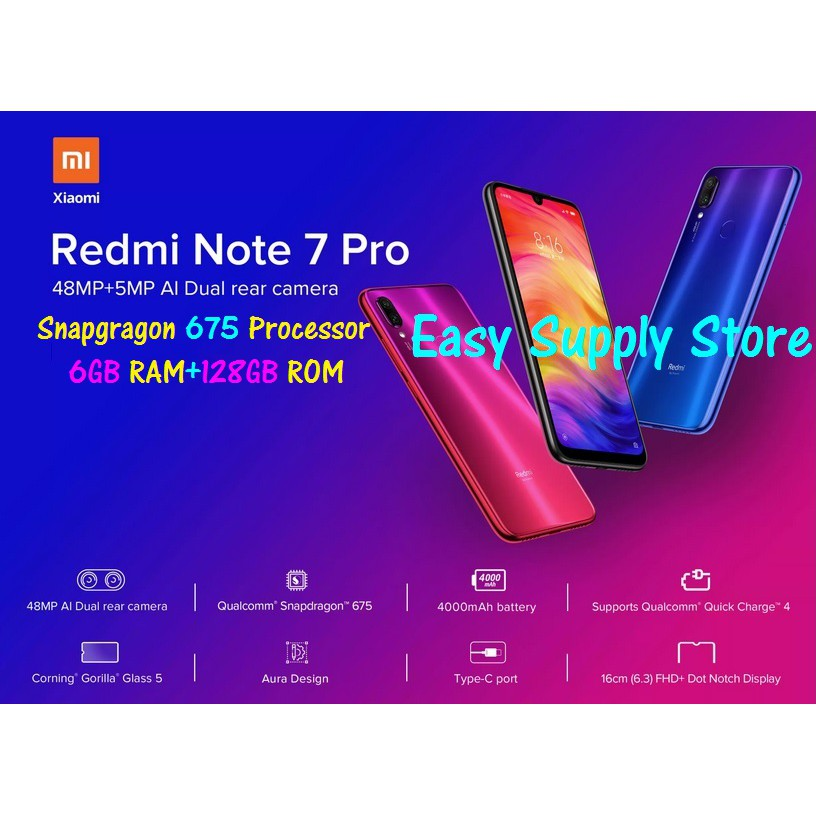 Xiaomi Redmi Note 7 Pro Price in Malaysia & Specs | TechNave
