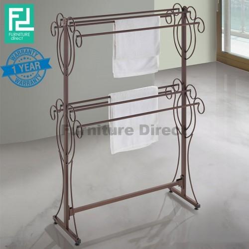 Furniture Direct BENNIS BS1011 wrought iron clothes hanger towel rack