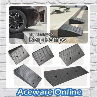 High-Strength Hard Plastic Sill Ramp Ramp Step Ramp Mat for Ramp Vehicles 1PC Car Motorcycle Lightweight Portable Curb