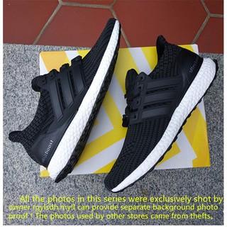 2e0e2fd2ad2 Original adidas ultra boost 3.0 Black Men's and women's knitting ...