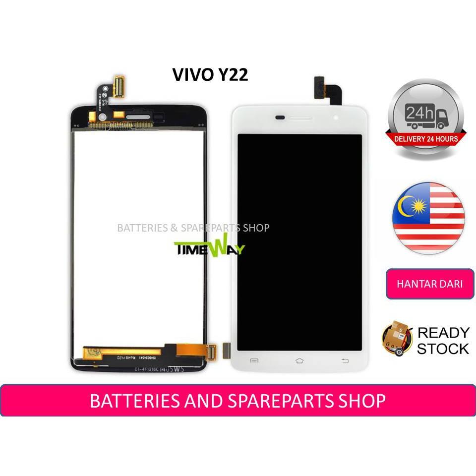 BSS Ori Vivo Y22 Lcd + Touch Screen Digitizer Sparepart Repair Service