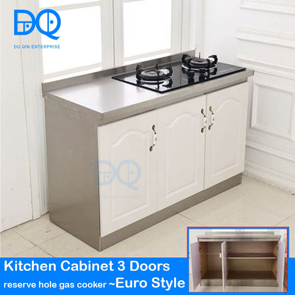 Most Wanted Stainless Steel Kitchen Cabinet Euro Style Shopee
