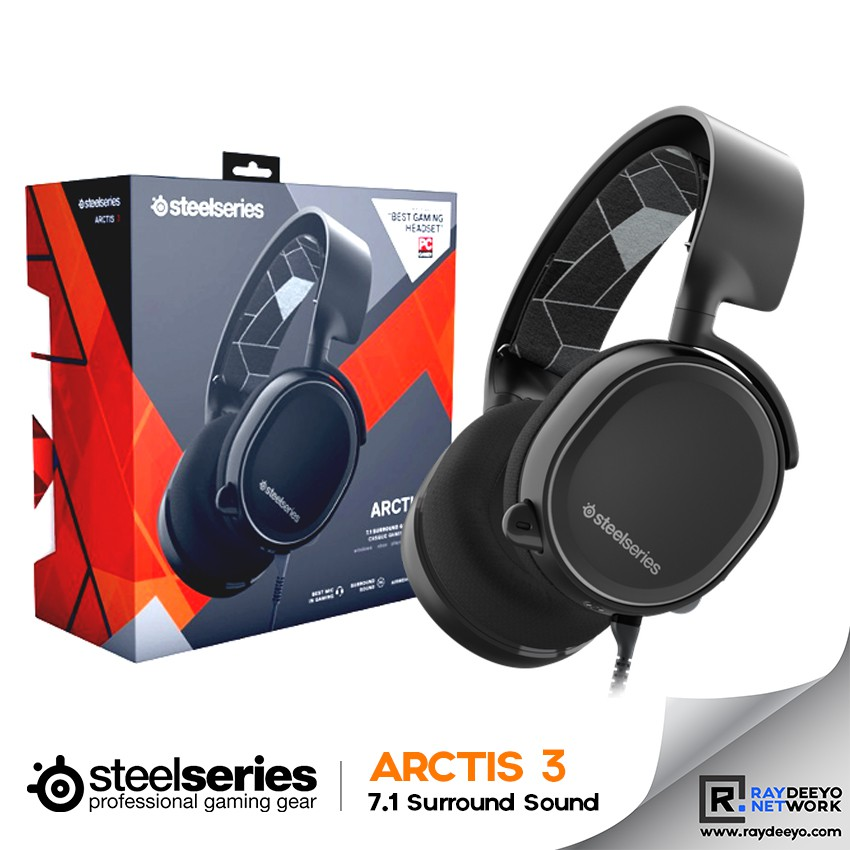 31848cf56ca ProductImage. ProductImage. SteelSeries Arctis 3 Gaming Headset ...