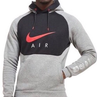 special sales detailed look official photos 100% Authentic Nike Air Hybrid Hoodie