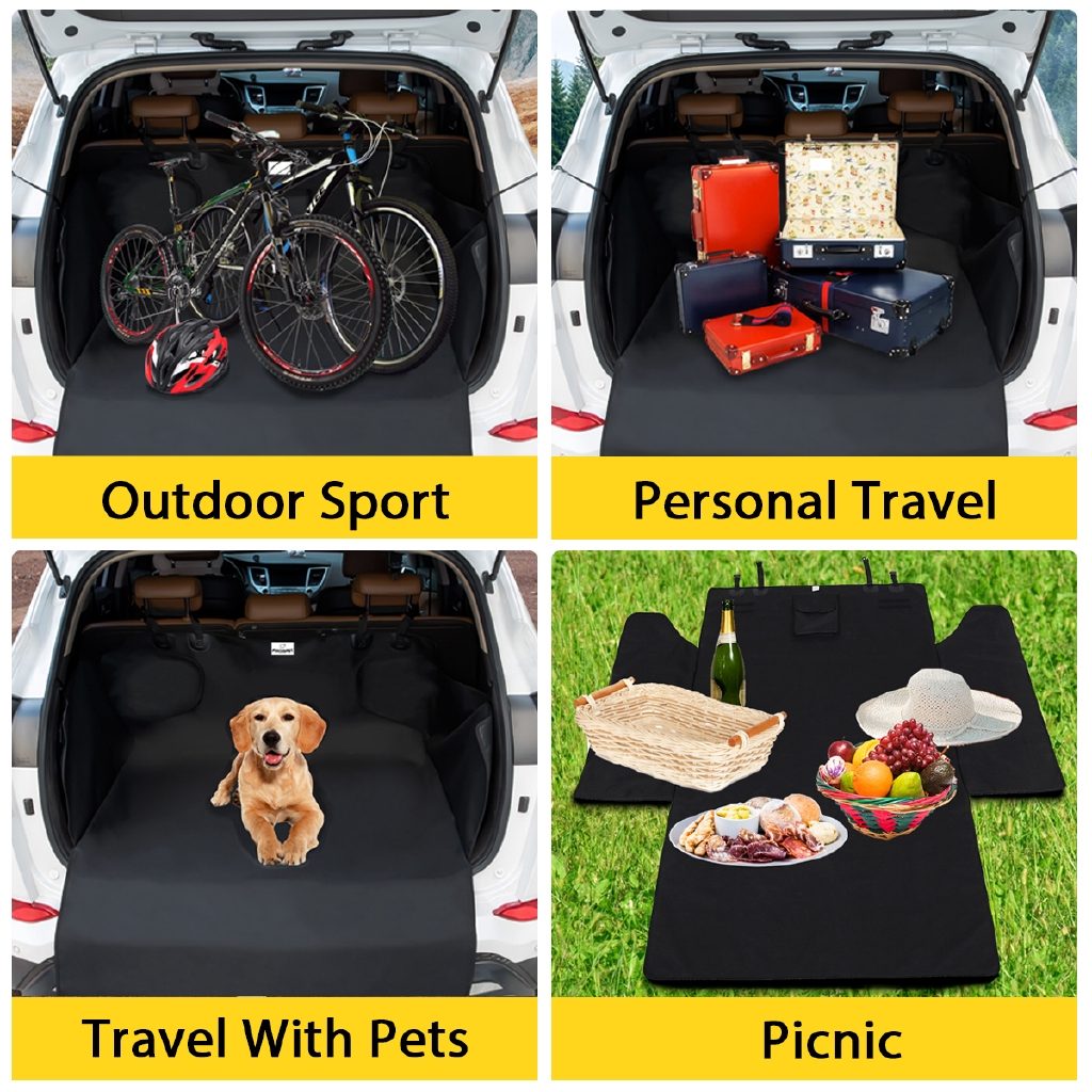 A Heavy Duty Boot Liner Protector Dog Guard fits TOYOTA FREE GIFT