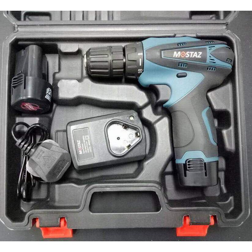Mostaz MS1006 12V 2-Speed Cordless Lithium Drill Driver