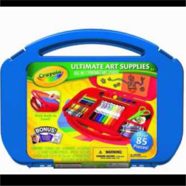 พร้อมส่ง!! Crayola Ultimate Art Supplies and Easel with 85 Piece แท้💯% สีน้