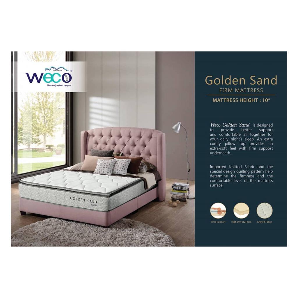 Ready Stock Weco Golden Sand Mattress - Queen Size