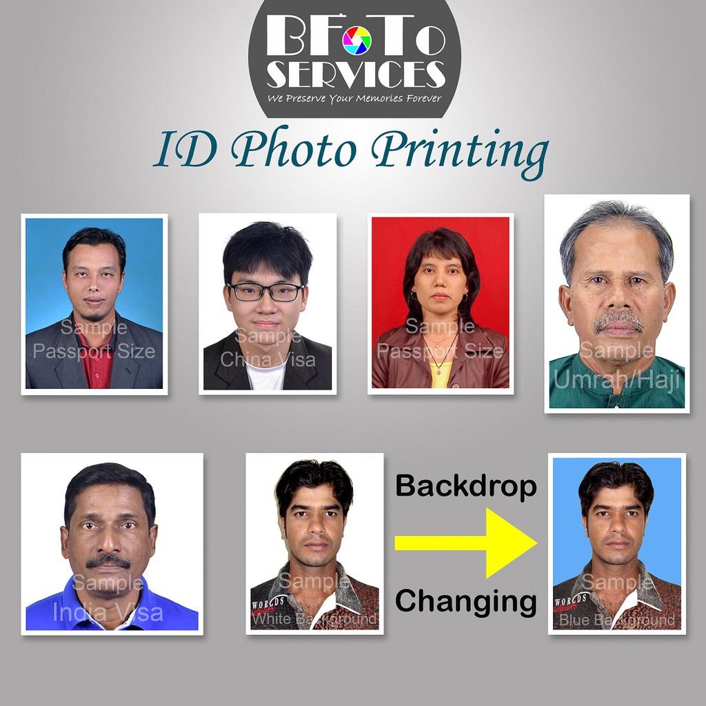Id Passport Size Photo Printing Service Cuci Gambar Saiz Pasport Shopee Malaysia