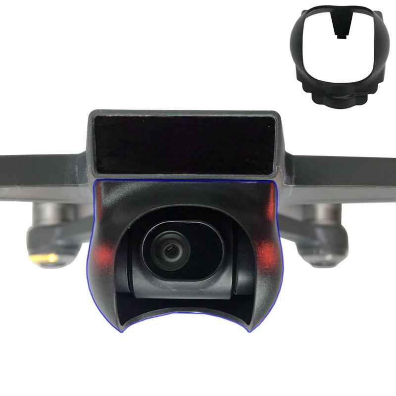 Camera Lens Hood Cap Sun Shade Lens Hood Sunhood Gimbal Protector Stabilizer Guard for DJI Spark Drone Spare Parts