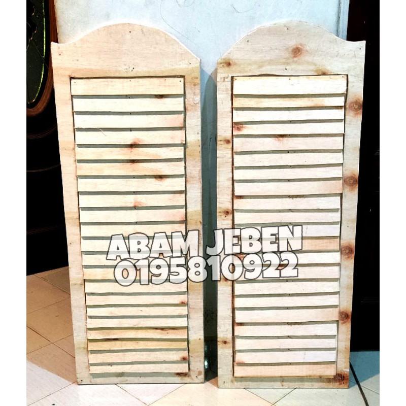 Pintu Koboi Kayu Murah Free Shipping Shopee Malaysia
