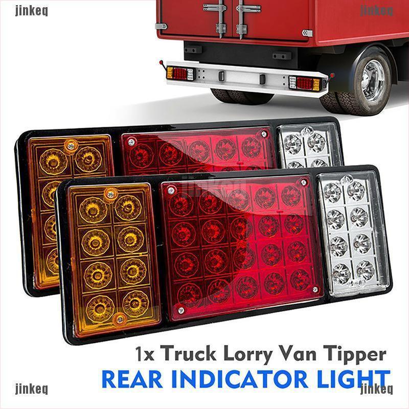 2pcs 12V 36 LED REAR Car Truck Van Lamp Tail Light Trailer Stop Indicator Lamp