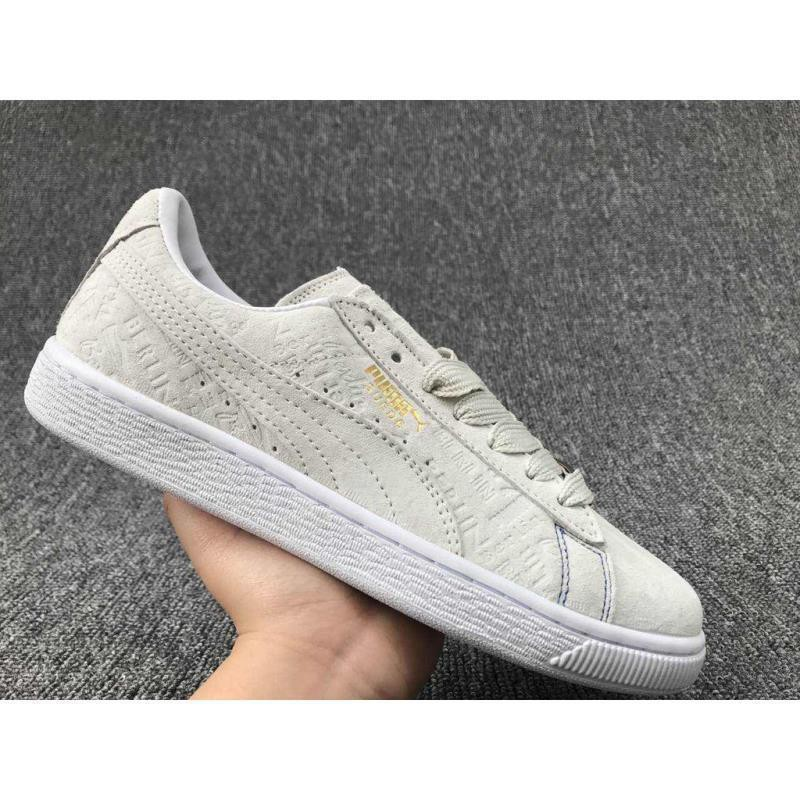 best service 0e0b2 efe29 PUMA Suede Classic x Paul Stanley couple casual board shoes full meters 2