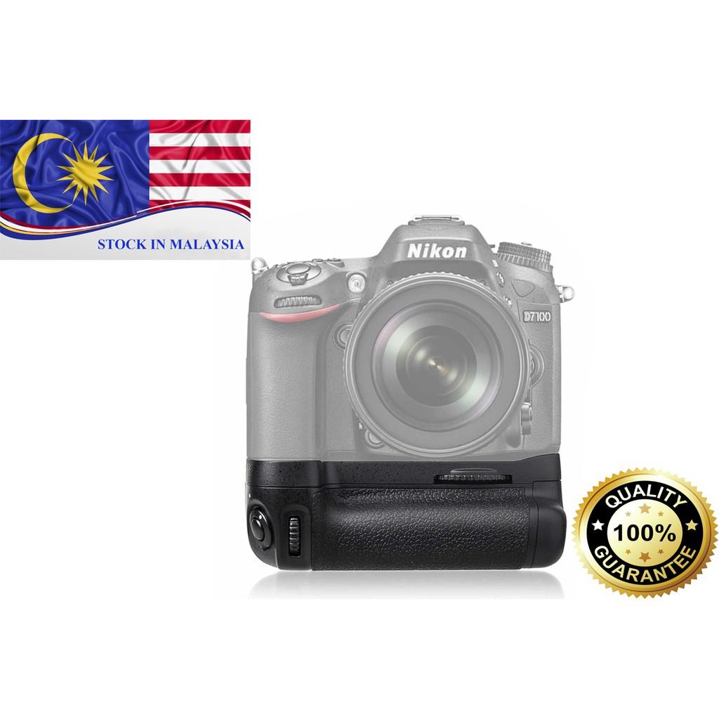 MK-D7100 Meike Vertical holder EN-EL15 for Nikon D7100 Battery Grip (Ready Stock In Malaysia)
