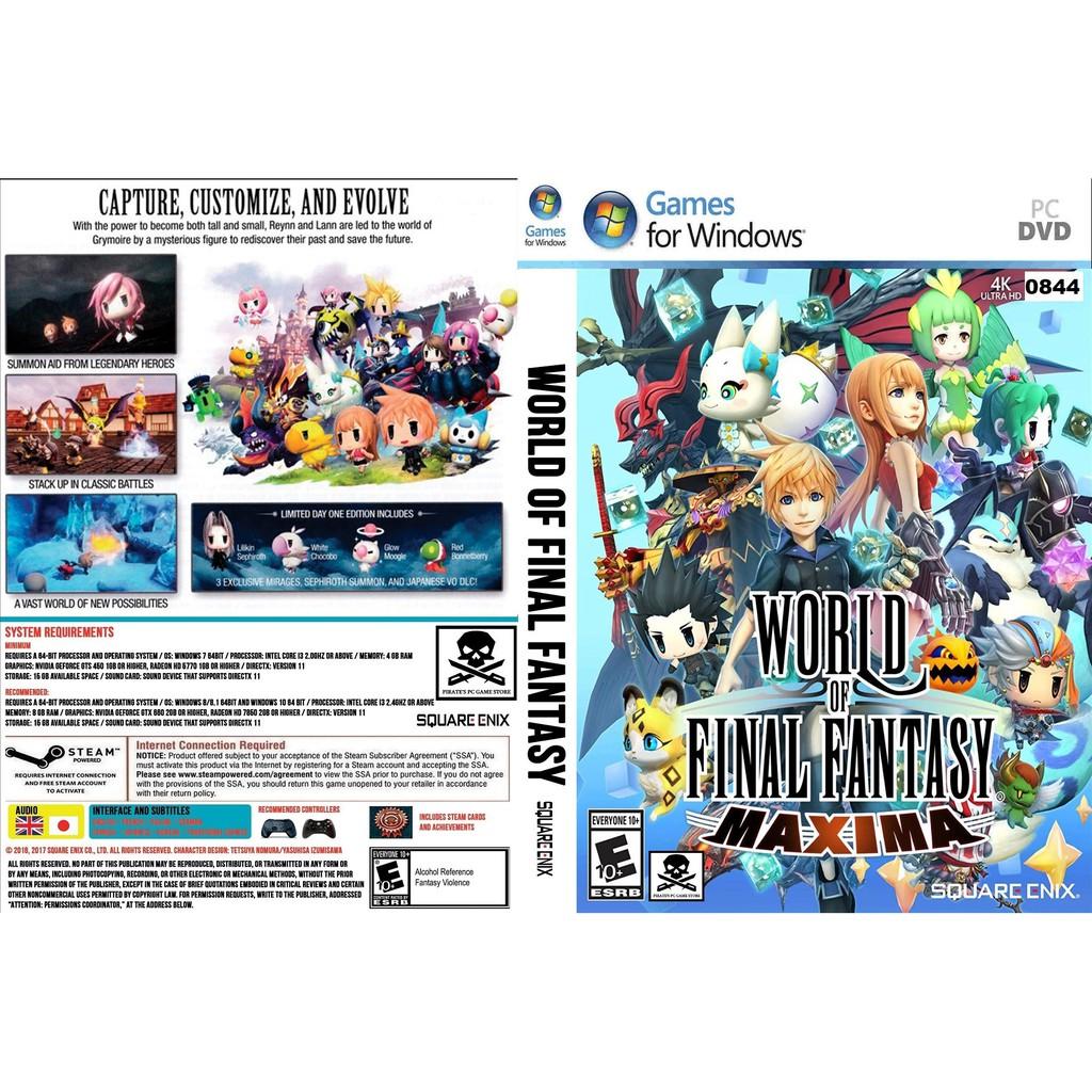 (PC) World Of Final Fantasy