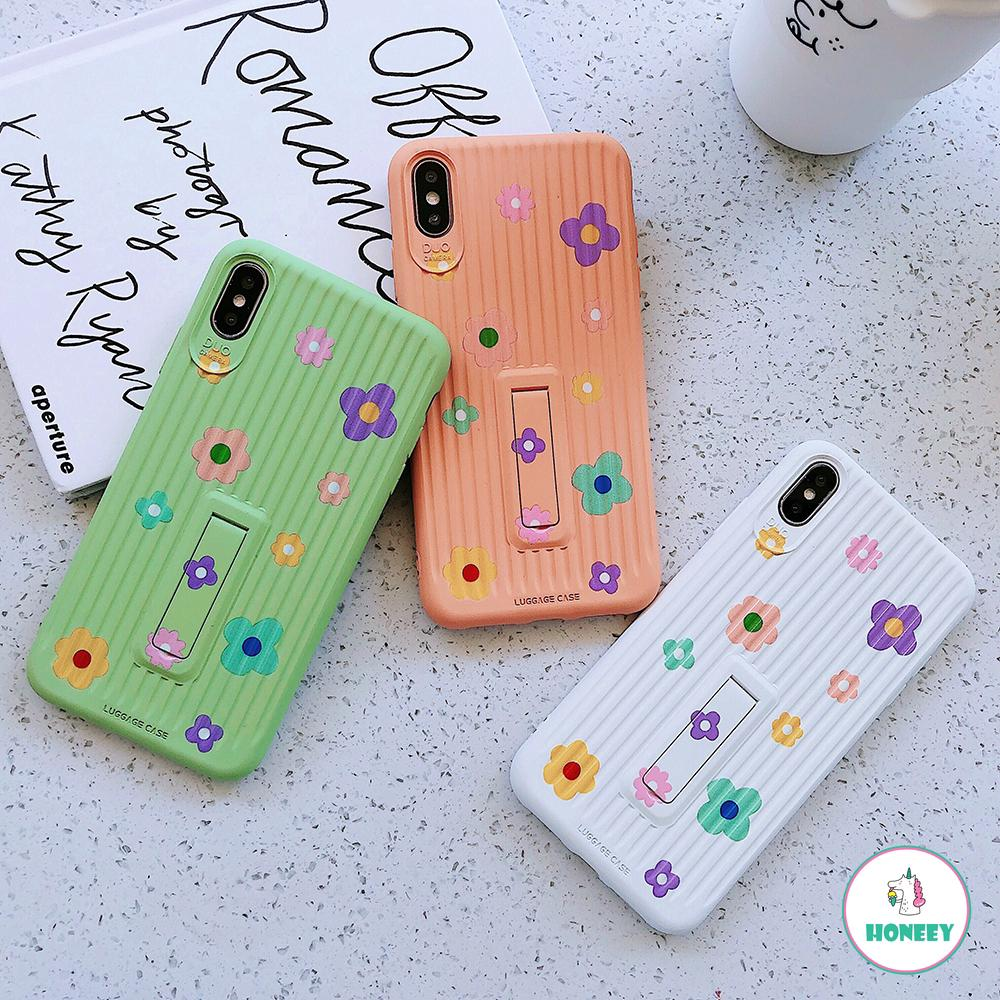 3D Multi Love Heart Case Soft Ring Invisible Stand Holder IPhone Xs Max XR  6s 8 7 Plus