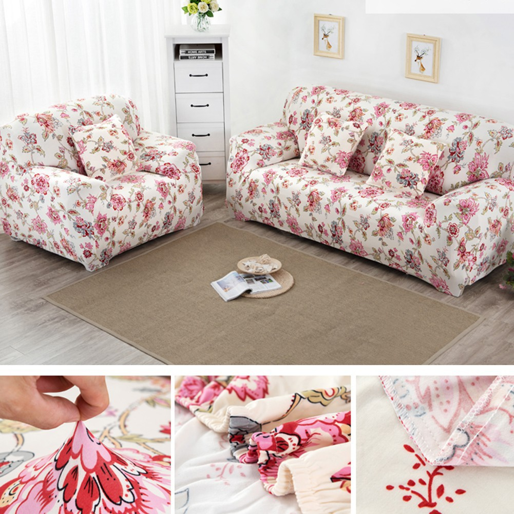 Sofa Slipcover Stretch Protector 1/2/3 Seater Couch Cover