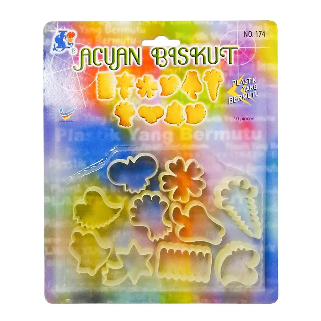 SL Biscuit Mould (10pcs)
