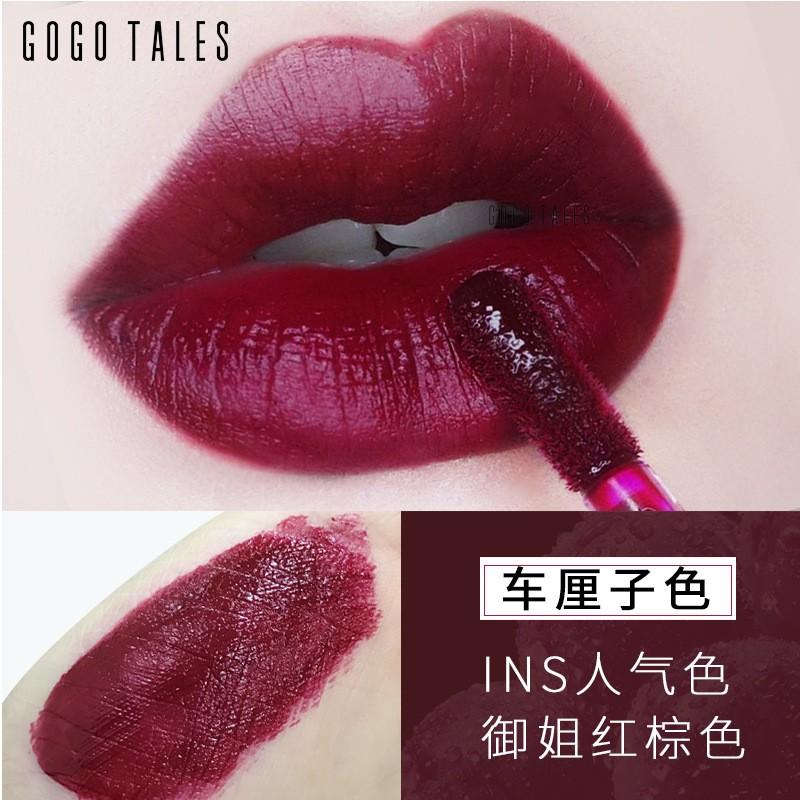 Gogo Tales 6 Colors Velvet Matte Lipstick Moisturizer Waterproof Makeup Batom Nude Baby Lips Lip Balm Natural Pigment Silky Lipstick