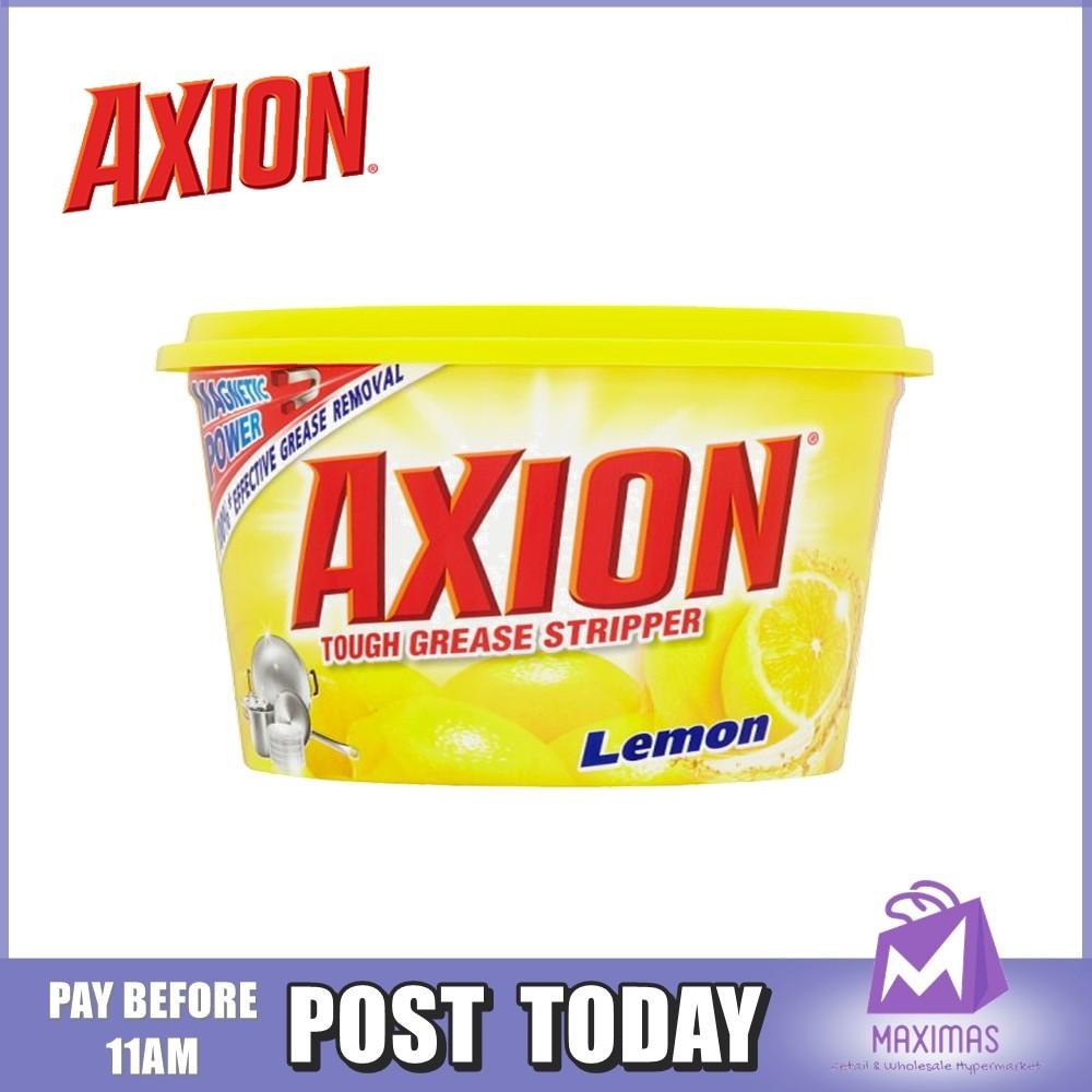350g   Axion Dishwashing Paste Grease Removal - Lemon