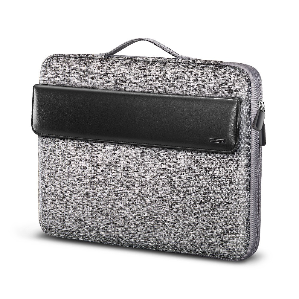 ESR 13-13.3 Inch Laptop Sleeve Carrying Case Bag for The MacBook Air//MacBook Pro//Surface Book//Retina Display 12.9 iPad Cushioned Handbag Compatible with Apple//Samsung//Sony Notebook Black