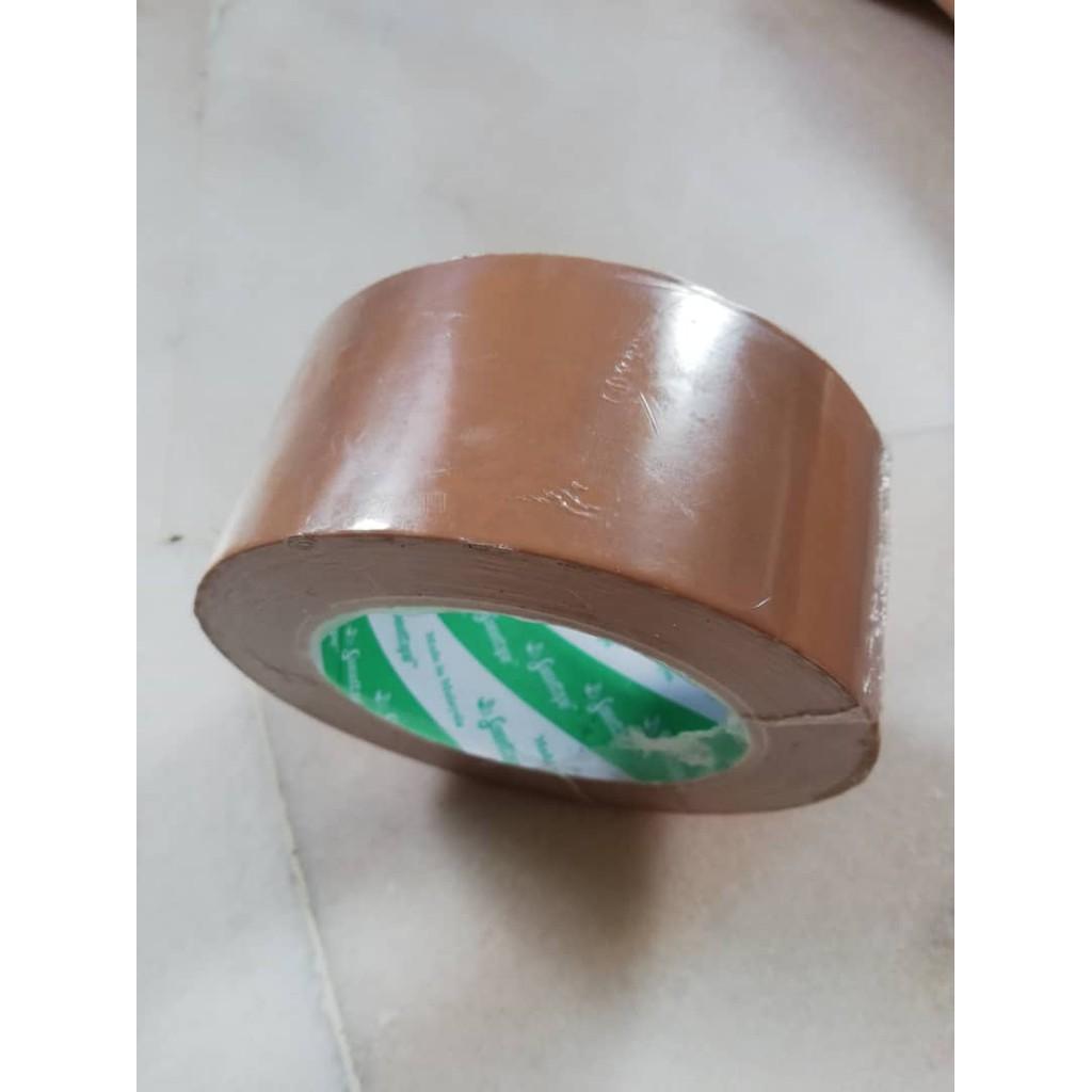 Sweettape OPP Tape (Brown/Clear) 1 roll