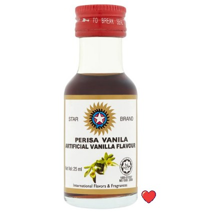 Star Brand Artificial Vanilla Flavour / Perisa Vanila @ 25ml ( Free fragile + bubblewrap packing )