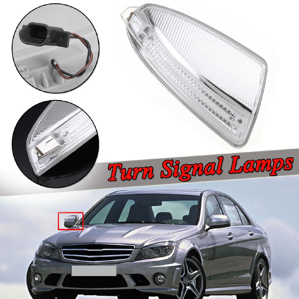 Door Mirror Turn Signal Lamp Light LEFT fits 2010-2014 MB C-Class W204