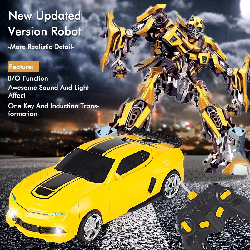 Bumblebee With Sam Robot Car Transformers Movie Drive Toy Boys Ages 5 Boys Fun
