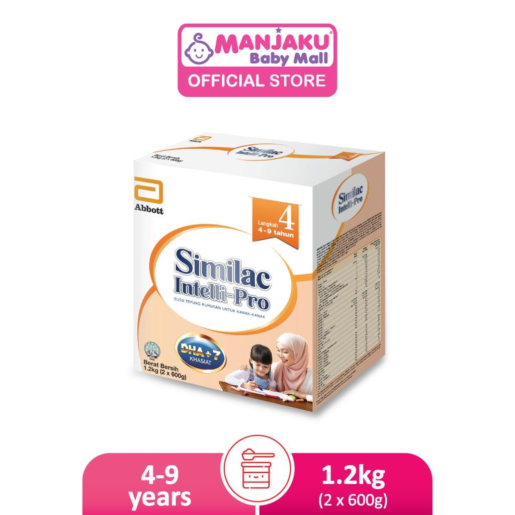 Similac Intelli-Pro Step 4 Growing Up Milk Formula (1.2kg)