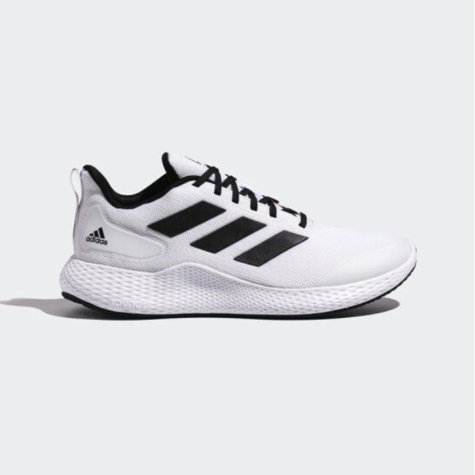 Educación crecer fiabilidad  Adidas Edge Gameday Men White Black Stripe Sport Running Shoes | Shopee  Malaysia