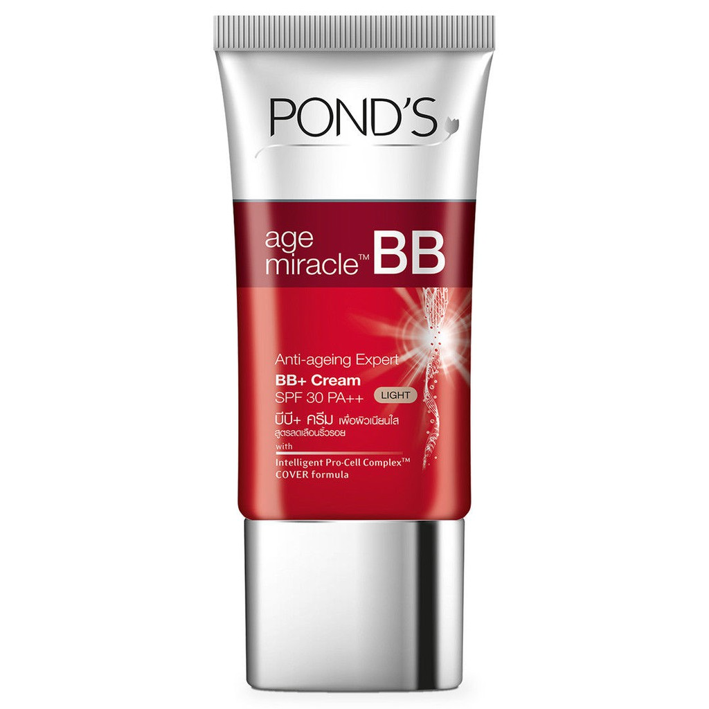 Ponds Age Miracle Bb Cream Anti Ageing Expert Spf30 Pa Light 25g Londs Night 10g Shopee Malaysia