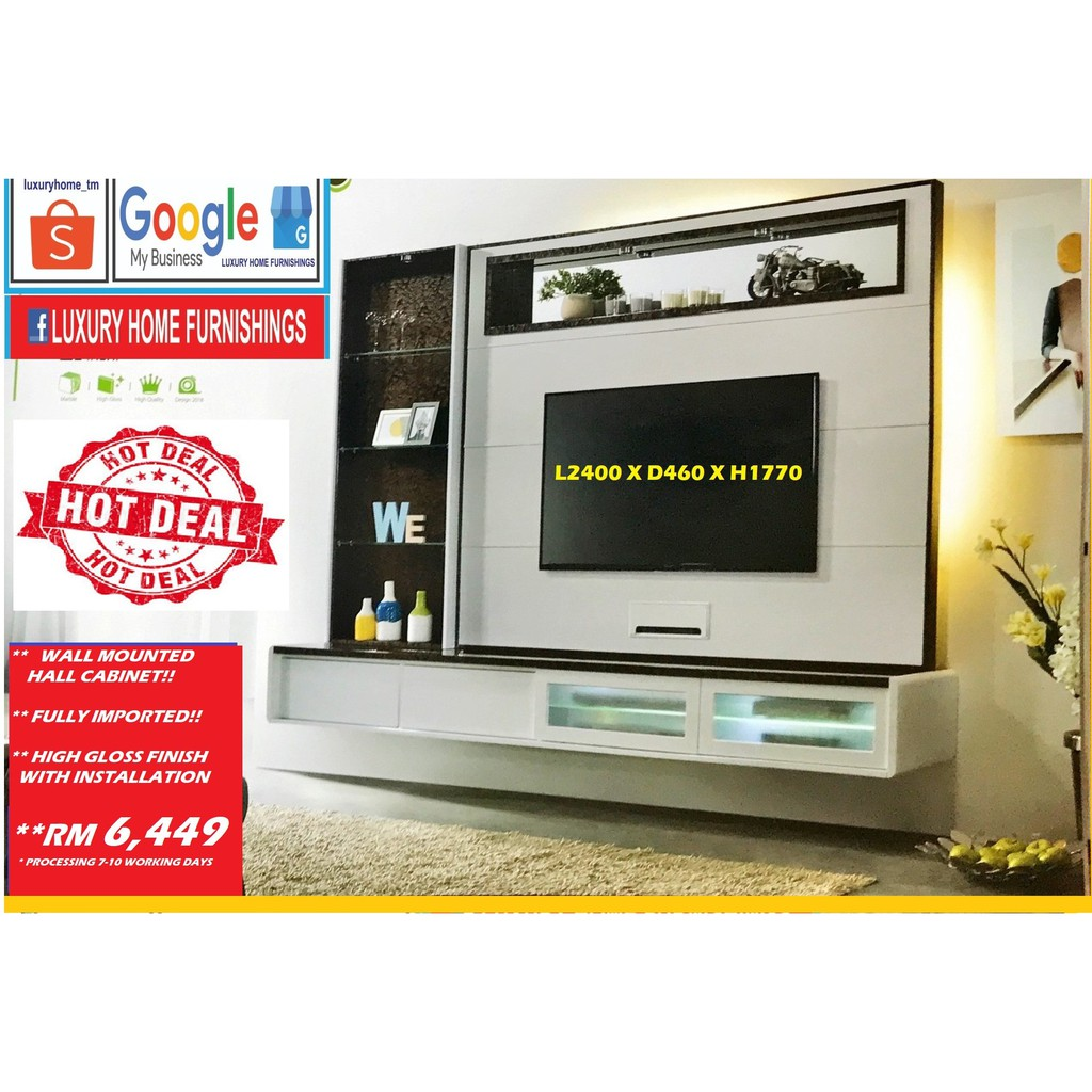 Wall Mount TV Cabinet
