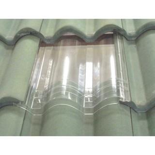 Monier / SAF Elabana Transparent Natural Light Roof Tiles ...