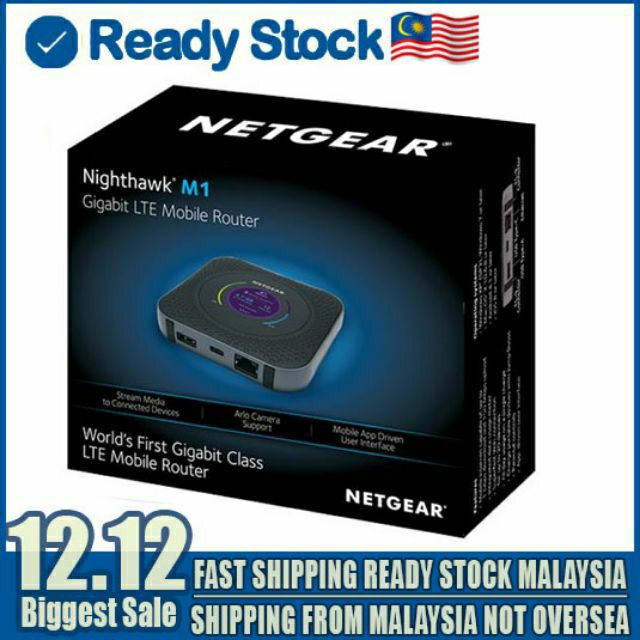 Netgear Nighthawk M1 MR1100 Full Box WiFi Router 1000Mbps CAT16 4X4 MIMO